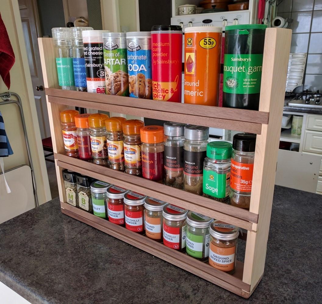 Spice Rack Tim Brier Woodworking